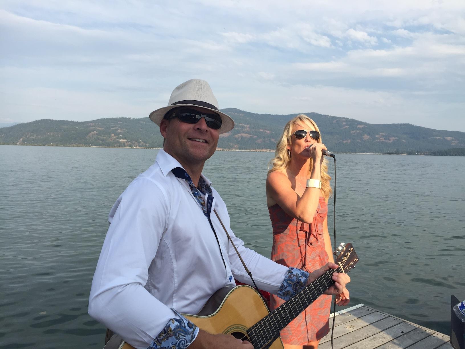 Tommy Fedak with Carla Johnson
