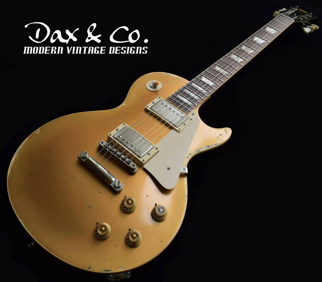 Tommy Fedak Gibson Les Paul Classic Goldtop