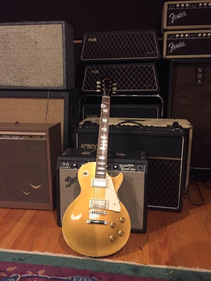 57 Gibson Gold Top Tommy Fedak Big Fish Studios San Diego