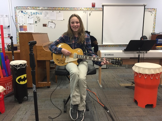 Music Appreciation Class with Tommy Fedak at Rolling Hills Charter School