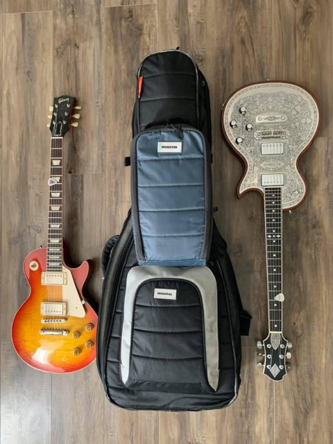 Tommy Fedak uses Mono Case for Gibson and Zemaitis guitars